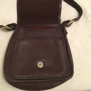 Coach Bags - Vintage Chocolate Brown Coach Crossbody